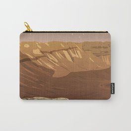 Schiparelli Crater Carry-All Pouch