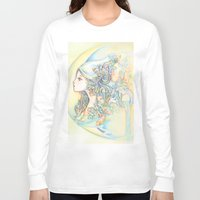 zodiac Long Sleeve T-shirts featuring Zodiac - Aquarius by Hellobaby