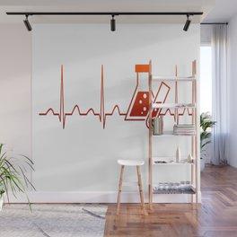 Chemist Heartbeat Wall Mural