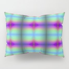 Rainbow Quilt Pillow Sham