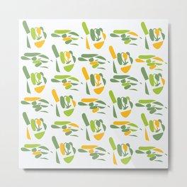 sign language (hi) Metal Print