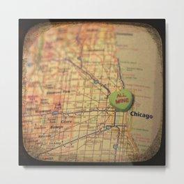All Mine Chicago Metal Print