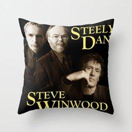 STEELY DAN STEVE WINDWOOD TOUR DATES 2019 RISOL Throw Pillow
