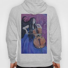 She was creating her living nightmares Hoody