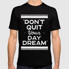 Day Dream MEDIUM Black Mens Fitted Tee