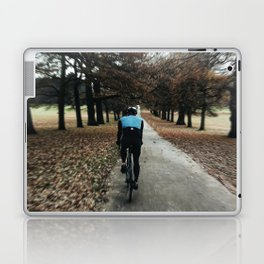 cycling in wollanton park Laptop & iPad Skin