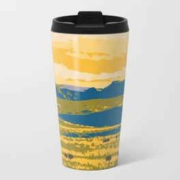 Grasslands National Park Poster Travel Mug
