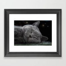 Beauty Sleep Framed Art Print