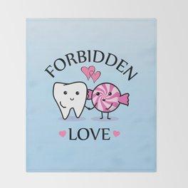 Forbidden Love Throw Blanket