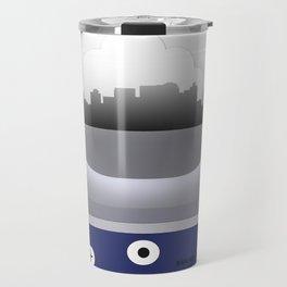 Nashville - BNA - Airport Code and Skylines Travel Mug
