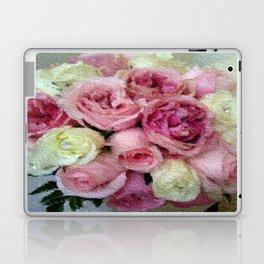 Gorgeous light pink and mauve wedding bouquet Laptop & iPad Skin