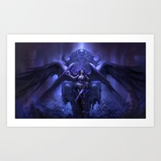 Black Angel Art Print