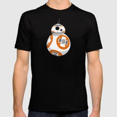 The Little Droid That Could MEDIUM Black Mens Fitted Tee