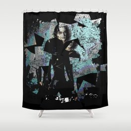 It Can't Rain All The Time Crow Shower Curtain