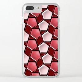 Geometrix 145 Clear iPhone Case