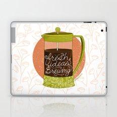 French Pressed Ideas  Laptop & iPad Skin