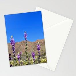 Arizona Lupines Stationery Cards