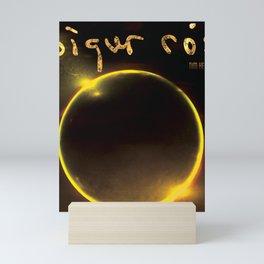 SIGUR ROS TIM HECKER TOUR DATES 2019 SAPI Mini Art Print