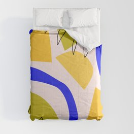 Tropical Abstract D4 Comforters