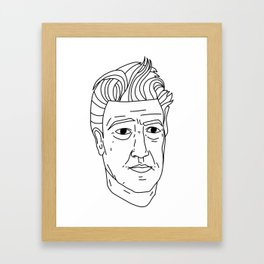 David Lynch Framed Art Print