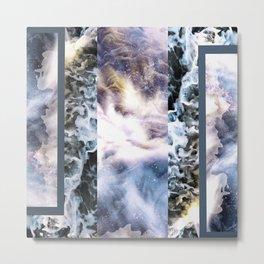 Stars & Tide Metal Print