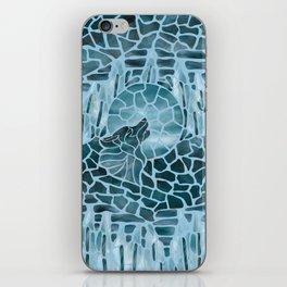 Moonlight Story (Light Blue) iPhone Skin