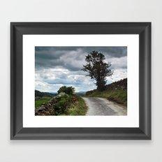 Crummack Lane Framed Art Print