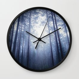 End of the maze Wall Clock