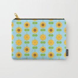 Kawaii Sunflowers Carry-All Pouch