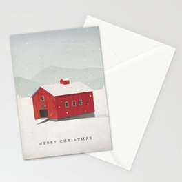 """""""Merry Christmas"""" Holiday Card Stationery Cards"""