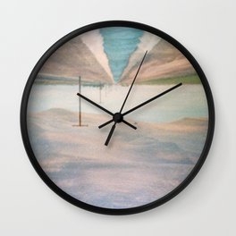 MM 205 . Sand Dunes x Country Road Wall Clock