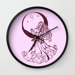 Lets Dance by the Moon Wall Clock