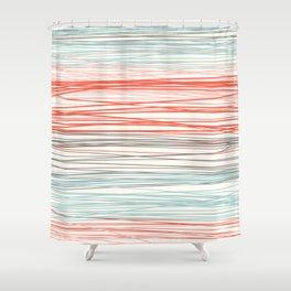 Stripey Shower Curtain
