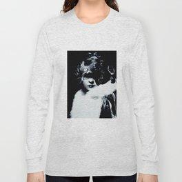 Pensive Gaze Long Sleeve T-shirt