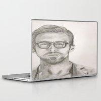 ryan gosling Laptop & iPad Skins featuring Ryan by Kristy Holding