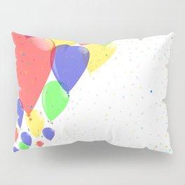 Flyaway Balloons Pillow Sham