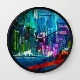 Kaneda Neo-Tokyo Wall Clock