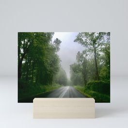 Misty Roadway Mini Art Print