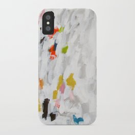 No. 71 Modern Abstract Painting iPhone Case