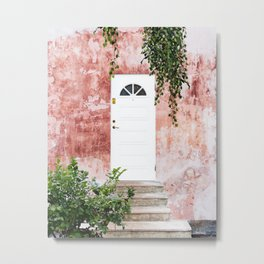 Remember, the entrance door to the sanctuary is inside you #travel Metal Print