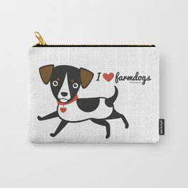 I love farmdogs Carry-All Pouch