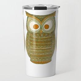 Dermot Owl Travel Mug