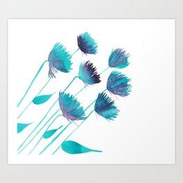 Light Growth Art Print