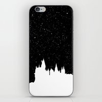 hogwarts iPhone & iPod Skins featuring Hogwarts Space by IA Apparel