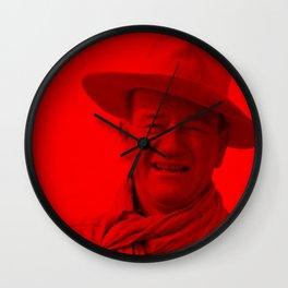 John Wayne - Celebrity (Photographic Art) Wall Clock