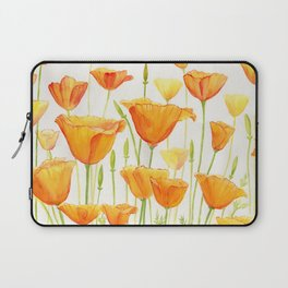 Blossom Poppies Laptop Sleeve