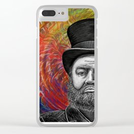 Psychodelic Scrooge's Epiphany Clear iPhone Case