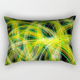 Lightpainted Colors Rectangular Pillow