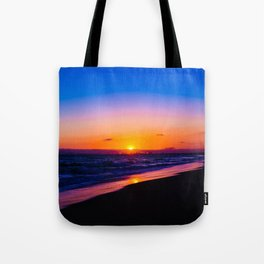 outstanding sunset Tote Bag