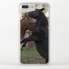 get shorty Clear iPhone Case